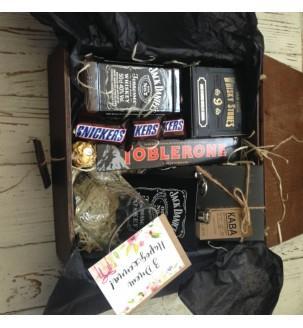 Кофе с виски в подарочном боксе №250 Подарки WOW BOX - 2