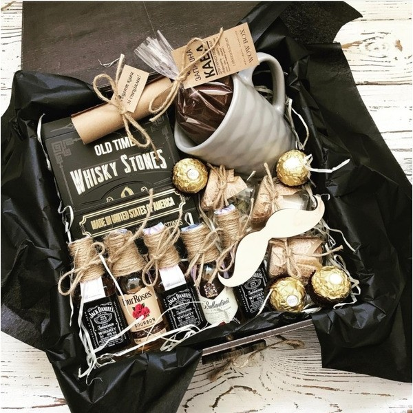 """Подарочный набор """"Кофе с виски"""" №293"""