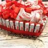 Сердце из киндер шоколада и раффаеллок №292 Подарки - 1