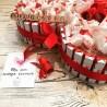 Сердце из киндер шоколада и раффаеллок №292 Подарки - 2